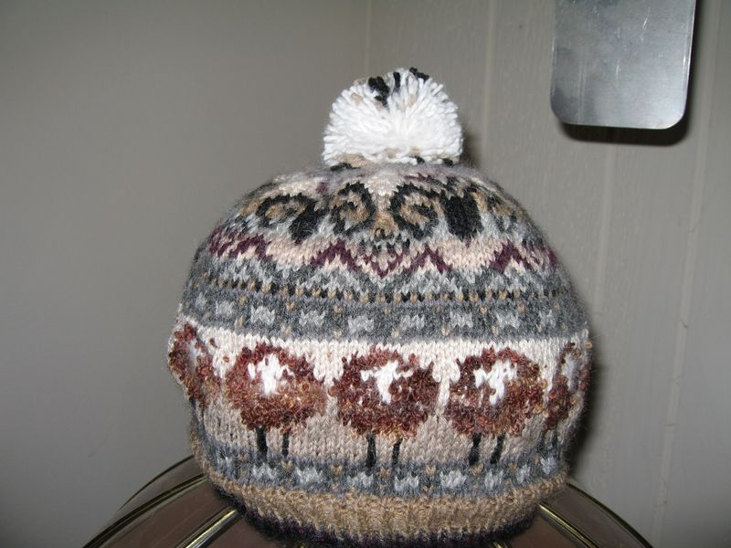 My Knitting SheepHeidHat1